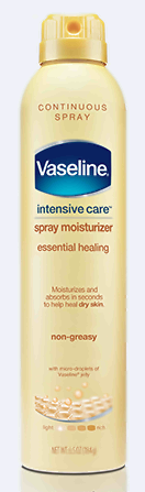 Vaseline® Intensive Care™ Essential Healing Spray Moisturizer