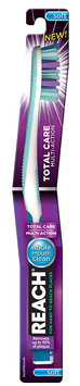 REACH® Total Care Multi-Action Soft Bristle Toothbrush