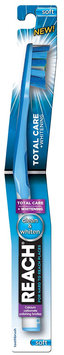 REACH® Total Care + Whitening Soft Bristle Toothbrush