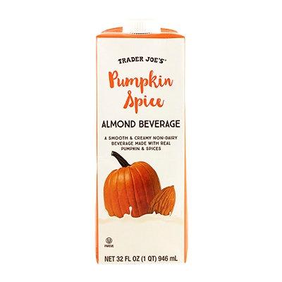 TRADER JOE'S® Pumpkin Spice Almond Beverage