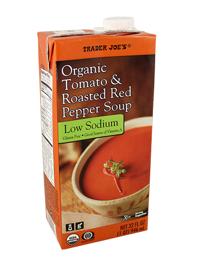 Image result for trader joe's tomato red pepper soup