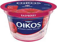 DANNON® OIKOS® TRADITIONAL GREEK YOGURT RASPBERRY