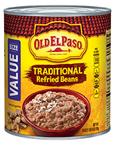 Old El Paso® Traditional Refried Beans