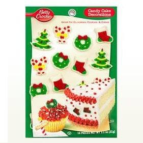 Betty Crocker™ Christmas Trees & Wreaths Candy Card Decoration