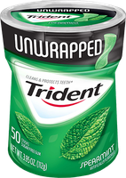 Trident Unwrapped - Spearmint