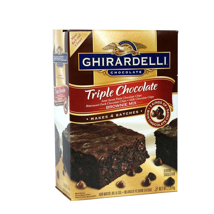 Ghirardelli Triple Chocolate Cake