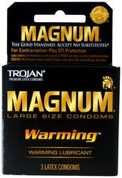 TROJAN™ MAGNUM™ Warming™ Lubricated Condoms