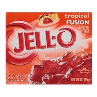 JELL-O Tropical Fusion Gelatin Dessert