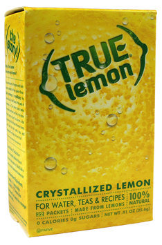 True Lemon Crystallized Lemon Packets