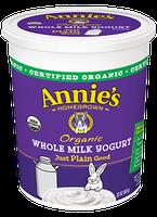 Annie's® Organic Whole Milk Yogurt