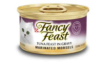 Fancy Feast® Marinated Morsels Tuna Gourmet Wet Cat Food In Gravy