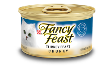 Fancy Feast® Chunky Turkey Wet Cat Food