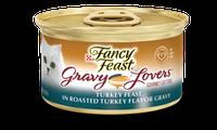 Fancy Feast® Gravy Lovers™ Turkey Wet Cat Food In A Roasted Turkey Flavor Gravy