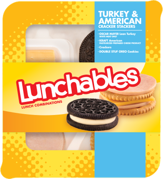 Lunchables Turkey & American Cracker Stackers