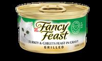 Fancy Feast® Grilled Turkey & Giblets Gourmet Wet Cat Food In Gravy