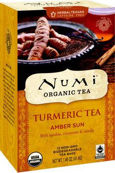 Numi Organic Teas Turmeric Tea Amber Sun