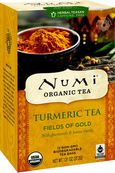 Numi Organic Turmeric Tea Fields of Gold