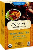 Numi Organic Turmeric Tea Golden Tonic