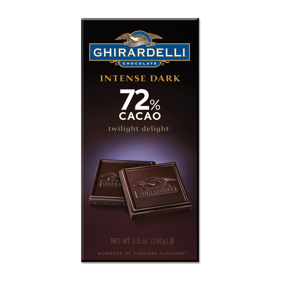 Ghirardelli Intense Dark Twilight Delight 72% Cacao Bar