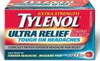 Tylenol® Ultra Relief Tough on Headaches EZ Tabs