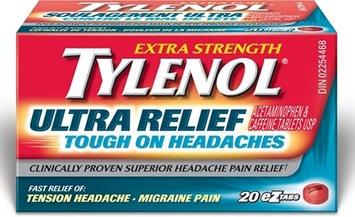 Tylenol® Ultra Relief Tough on Headaches EZ Tabs