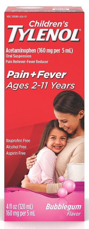 Tylenol® Children's Bubblegum Oral Suspension