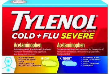 Tylenol® Cold + Flu Severe Day & Night Caplets