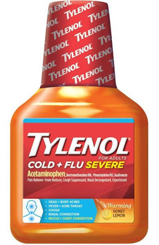 Tylenol® Cold + Flu Severe Warming Honey Lemon Liquid