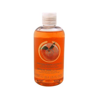 Vineyard Peach Shower Gel by The Body Shop for Unisex - 8.4 oz Shower Gel