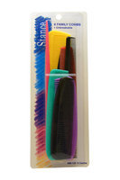 Unisex Stance Unbreakable 8 Family Combs Comb 8 Pc Pack