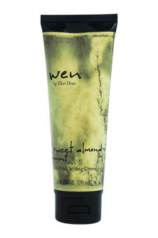 Wen Sweet Almond Mint Anti-Frizz Styling Cream by Chaz Dean for Unisex - 4 oz Cream