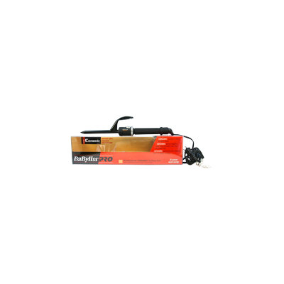 Babyliss PRO Professional Ceramic Curling Iron - Model # BABC50SC - Black by BaBylissPRO for Unisex - 1/2 Inch Curling Iron