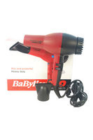 Babyliss PRO Super Turbo Hair Dryer - Model # BAB307C - Red/Black by BaBylissPRO for Unisex - 1 Pc Hair Dryer