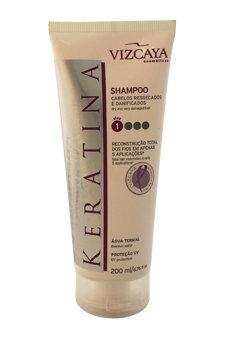 Shampoo Keratina by Vizcaya for Unisex - 6.76 oz Shampoo