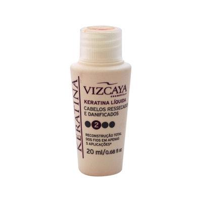Keratina Liquid Treatment Step 2 by Vizcaya for Unisex - 0.68 oz Treatment