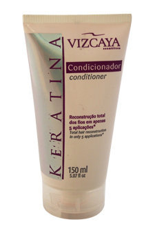 Keratina Conditioner Total Hair Reconstruction by Vizcaya for Unisex - 5.07 oz Conditioner