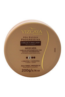 Treatment Mask Post Progressive Straightening Step 2 by Vizcaya for Unisex - 6.76 oz Mask