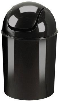 Umbra Mini Recycled Polypropylene Waste Can, Black