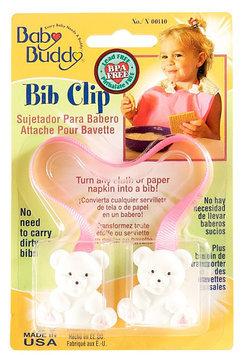 Baby Buddy Bib Clip Pink - Case of 18