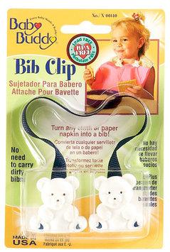Baby Buddy Bib Clip Navy - Case of 18