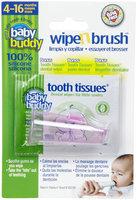 Baby Buddy Wipe N Brush - Pink - 00 - 1 ct.