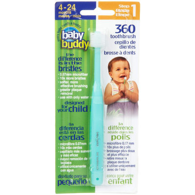 Baby Buddy/compac Baby Buddy 00572G 360 Toothbrush Step 1 - Mint Green