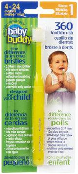 Baby Buddy/compac Baby Buddy 00573Y 360 Toothbrush Step 1 - Yellow