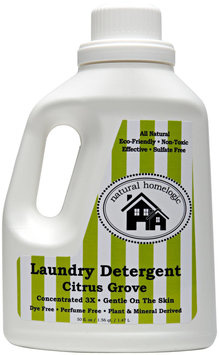 Natural HomeLogic - Laundry Detergent 3X Concentrated Citrus Grove - 50 oz.
