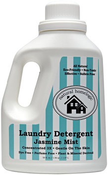 Natural HomeLogic - Laundry Detergent 3X Concentrated Jasmine Mist - 50 oz.