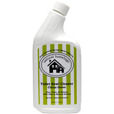 Natural HomeLogic - Toilet Bowl Cleaner Citrus Grove - 24 oz.
