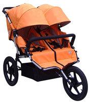 Tike Tech X3 Sport All Terrain Double Stroller - Autumn Orange