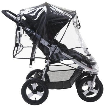 Bumbleride Indie Twin Stroller Rain Cover NON PVC