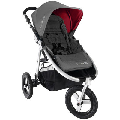 Bumbleride 2013 Indie Single Stroller - Fog Grey