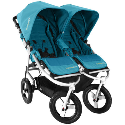Bumbleride 2013 Indie Twin Double Stroller - Aquamarine